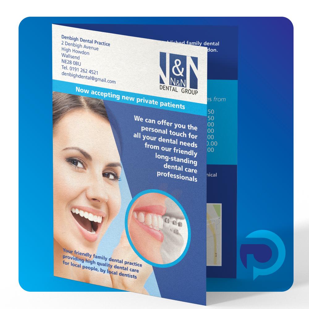 4pp A5 leaflets