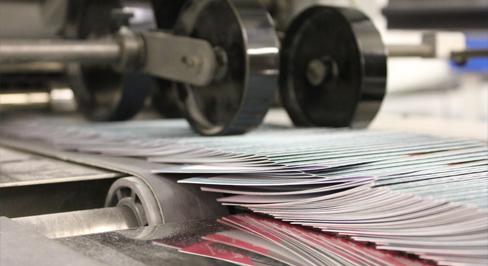 Folding leaflets