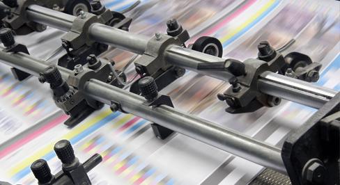 Litho print press